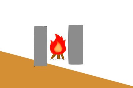 簡易焼却炉側面図2