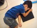 iPad と昼寝