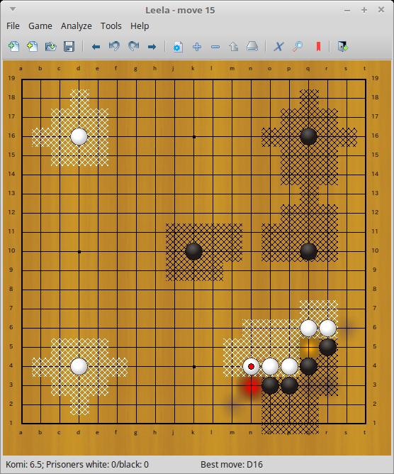 leela 囲碁