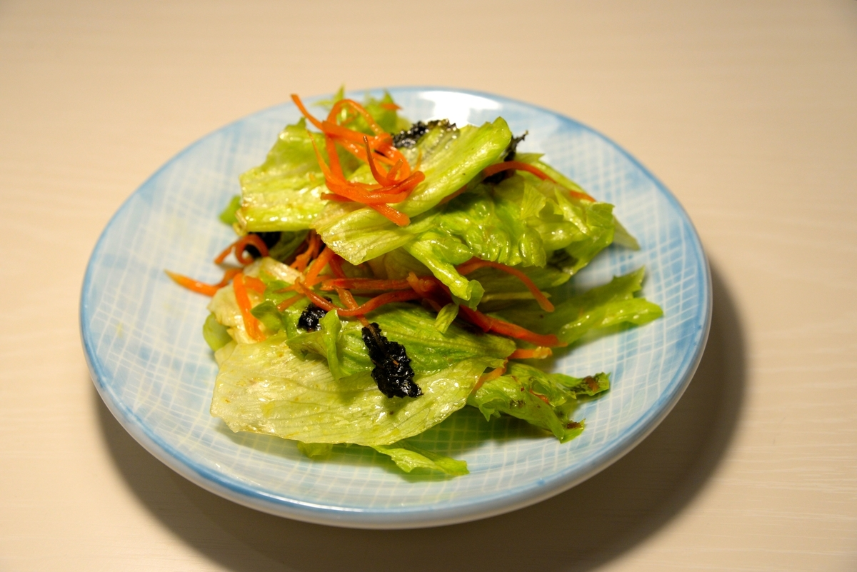 レタス和風サラダ