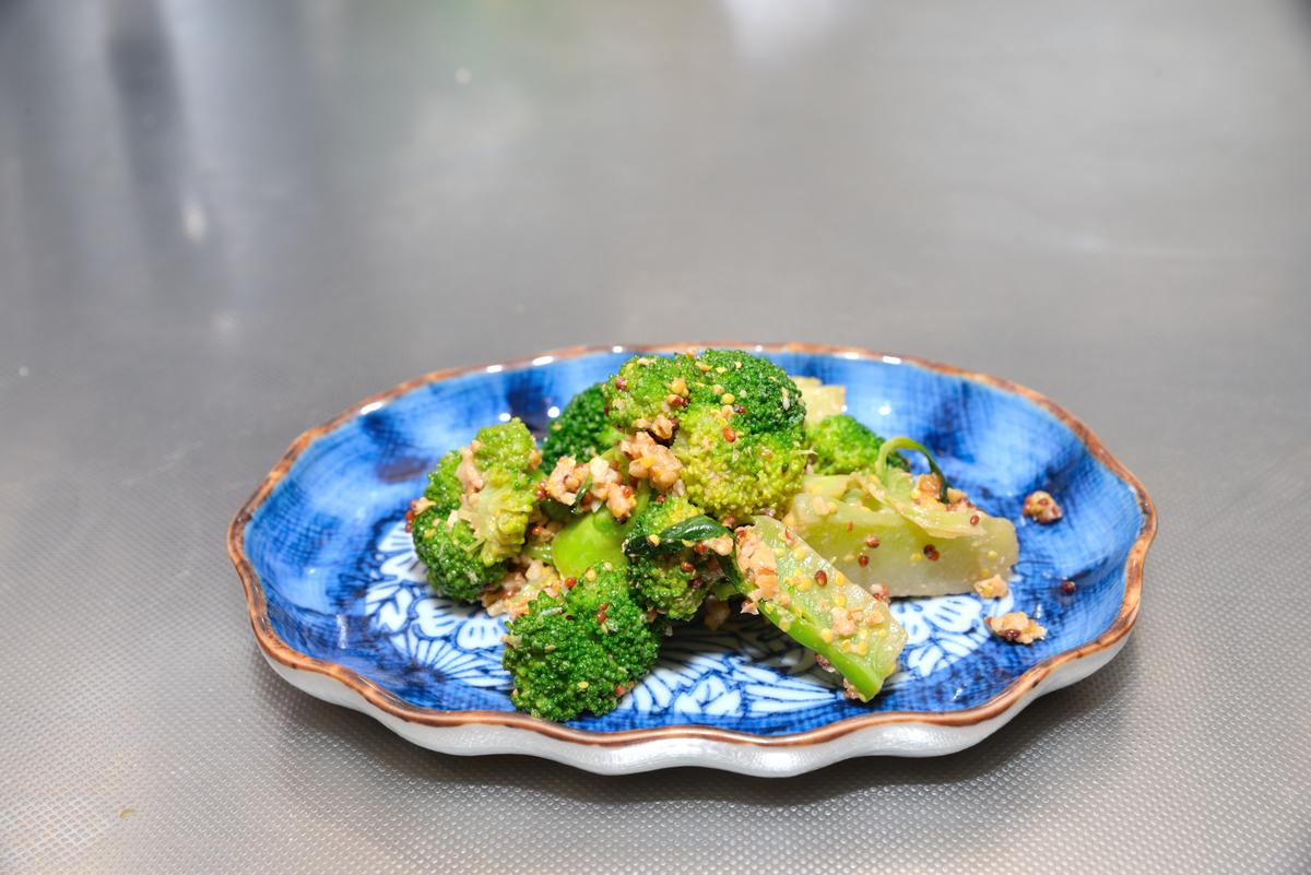 ブロッコリーのマスタードサラダ