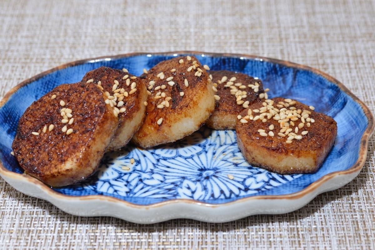 山芋醤油ソテー