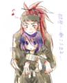 恋ルキー線画絵チャ塗りSAI
