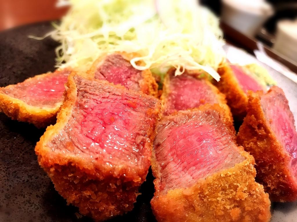「京都勝牛」でいただいた「特選上牛かつ御膳」