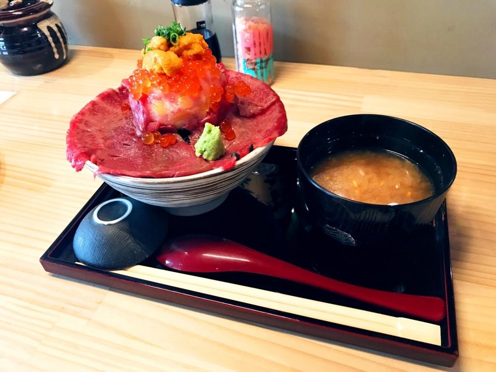 肉ドレス海鮮丼2