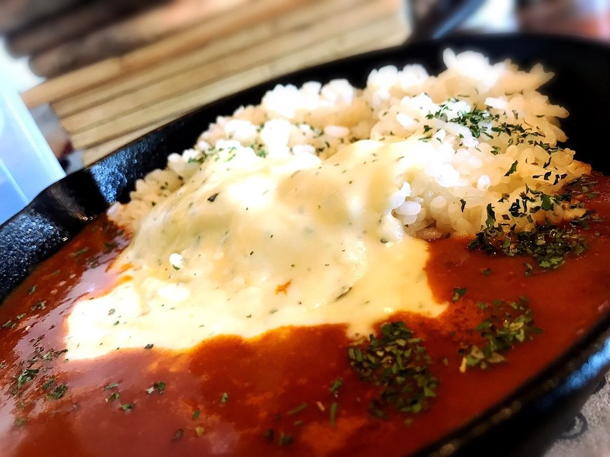 塩麴のトマトカレーのカレーランチ1