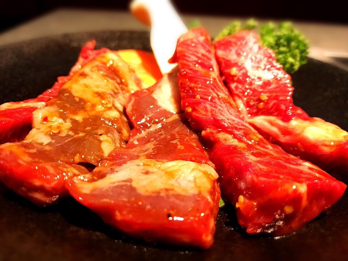 牛タンうしすけ吉祥寺店のハラミ肉2