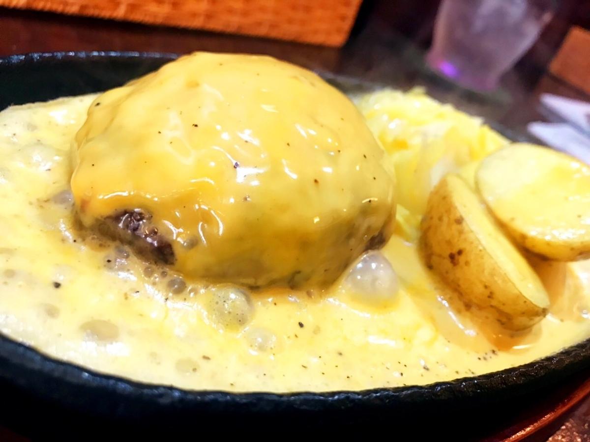 吉祥寺バーグのチーズハンバーグ1