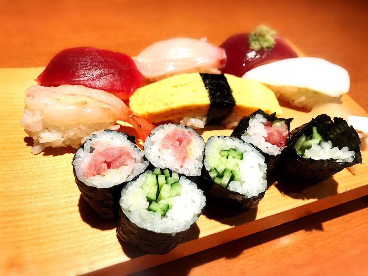 鮨寿兆の竹寿司1