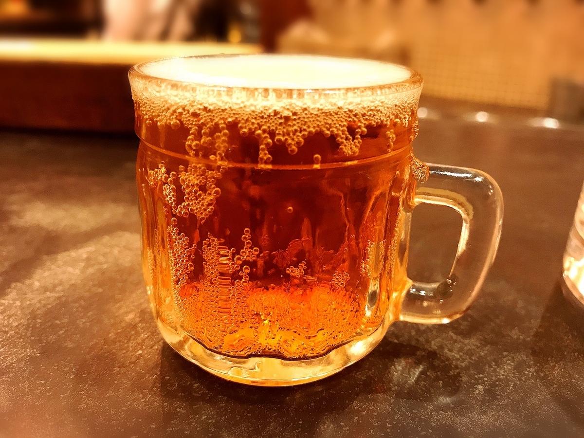 よなよなビアワークス吉祥寺店の一口ビール