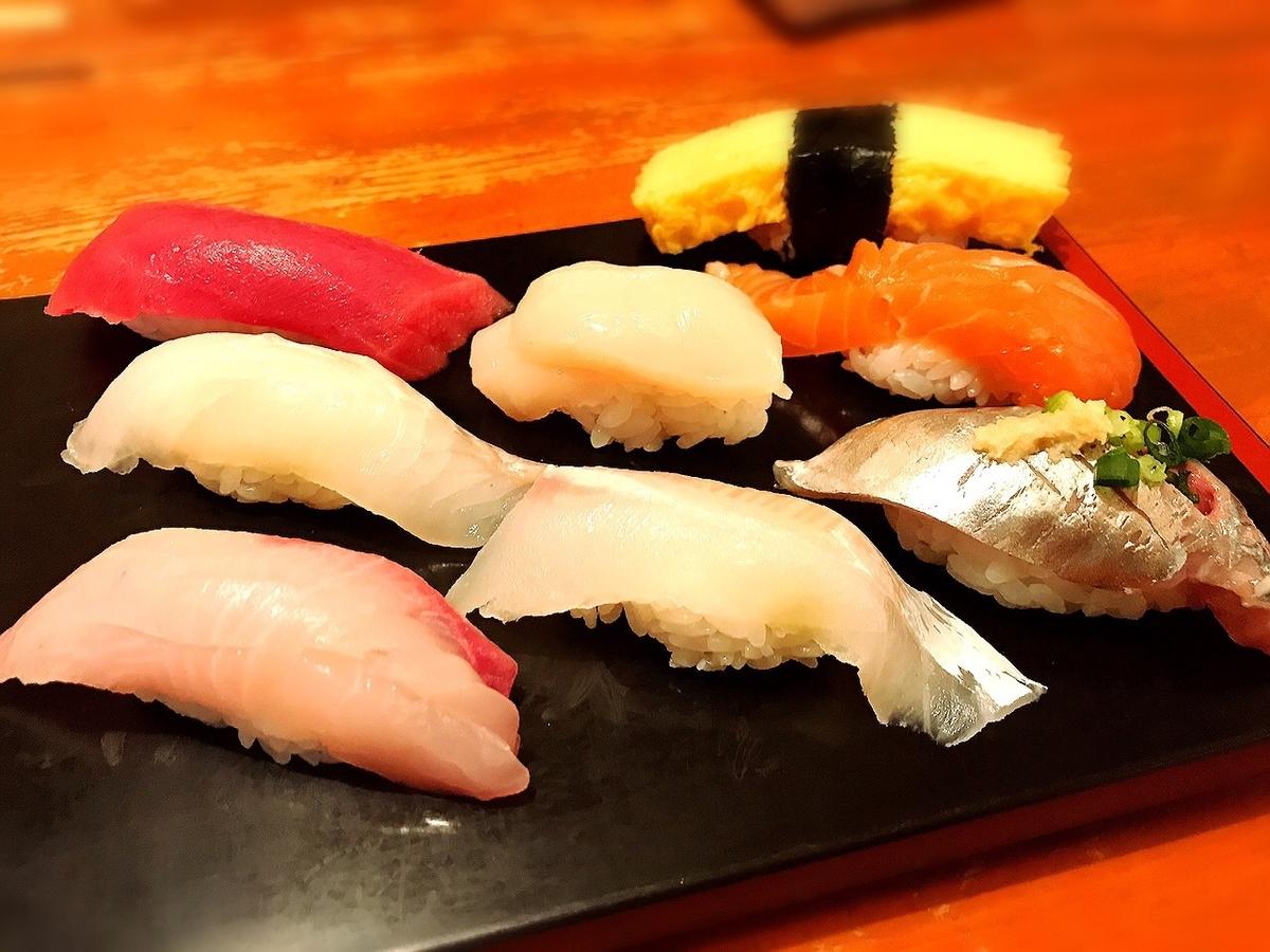 日本一寿司の寿司