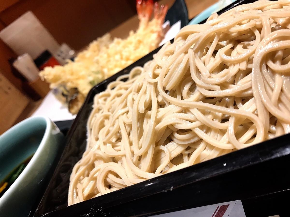 神田まつやの天ぷら蕎麦1
