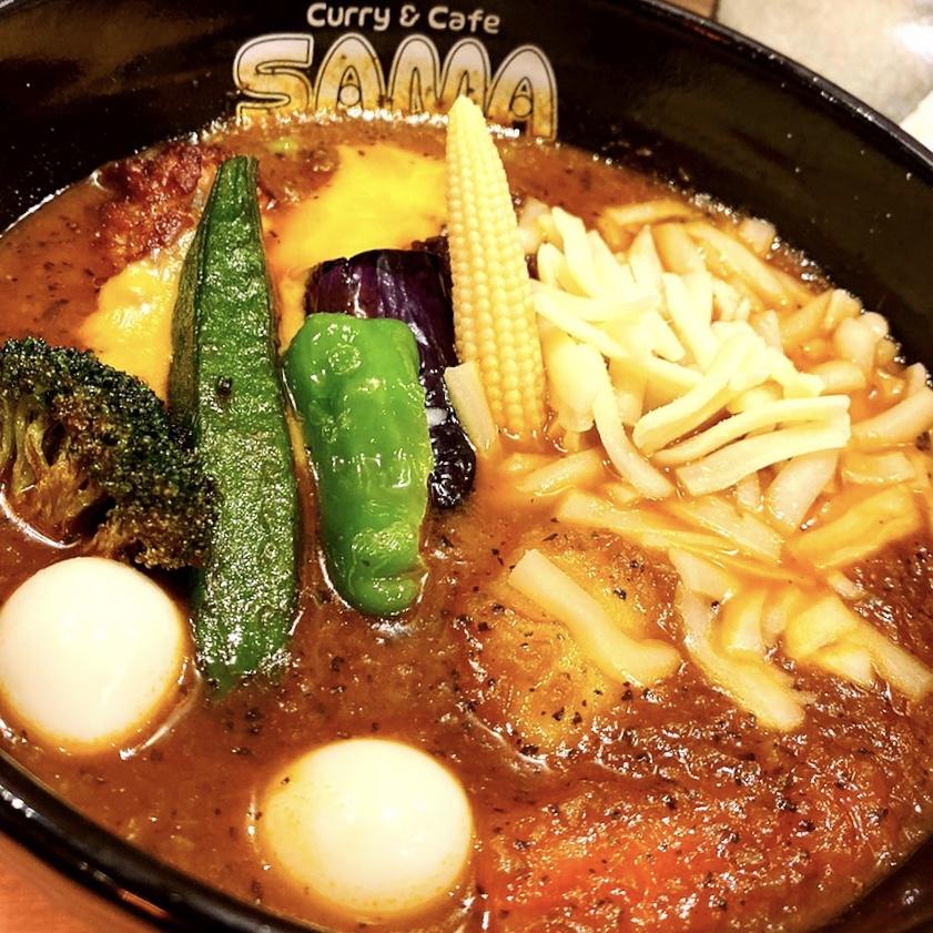 北海道で人気のスープカレーのお店が吉祥寺に降り立った