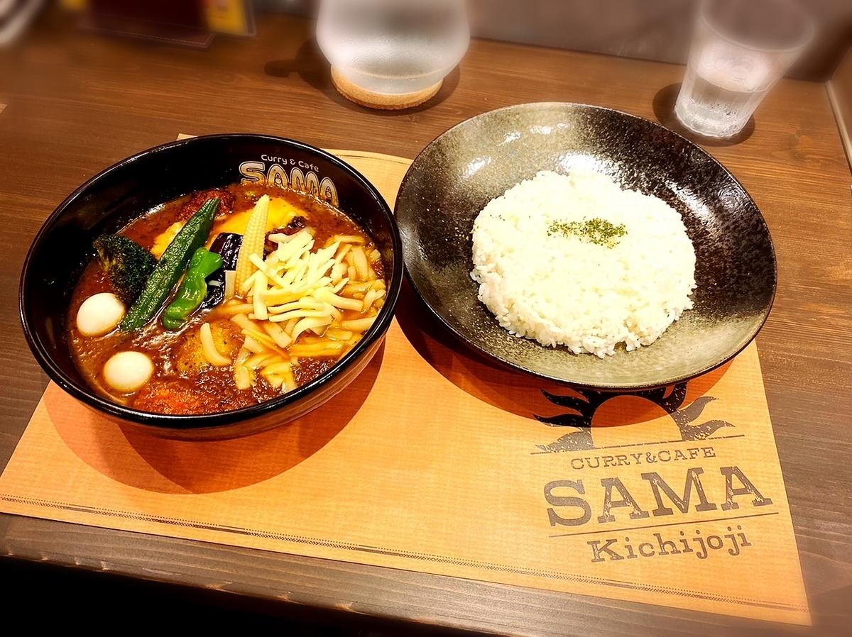 「SAMA 吉祥寺店」はデートや一人ランチなどに利用できるスープカレー屋でした!