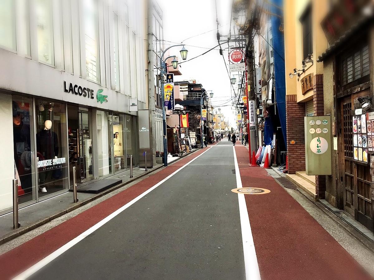 吉祥寺駅から「茶の癒庵」への行き方3