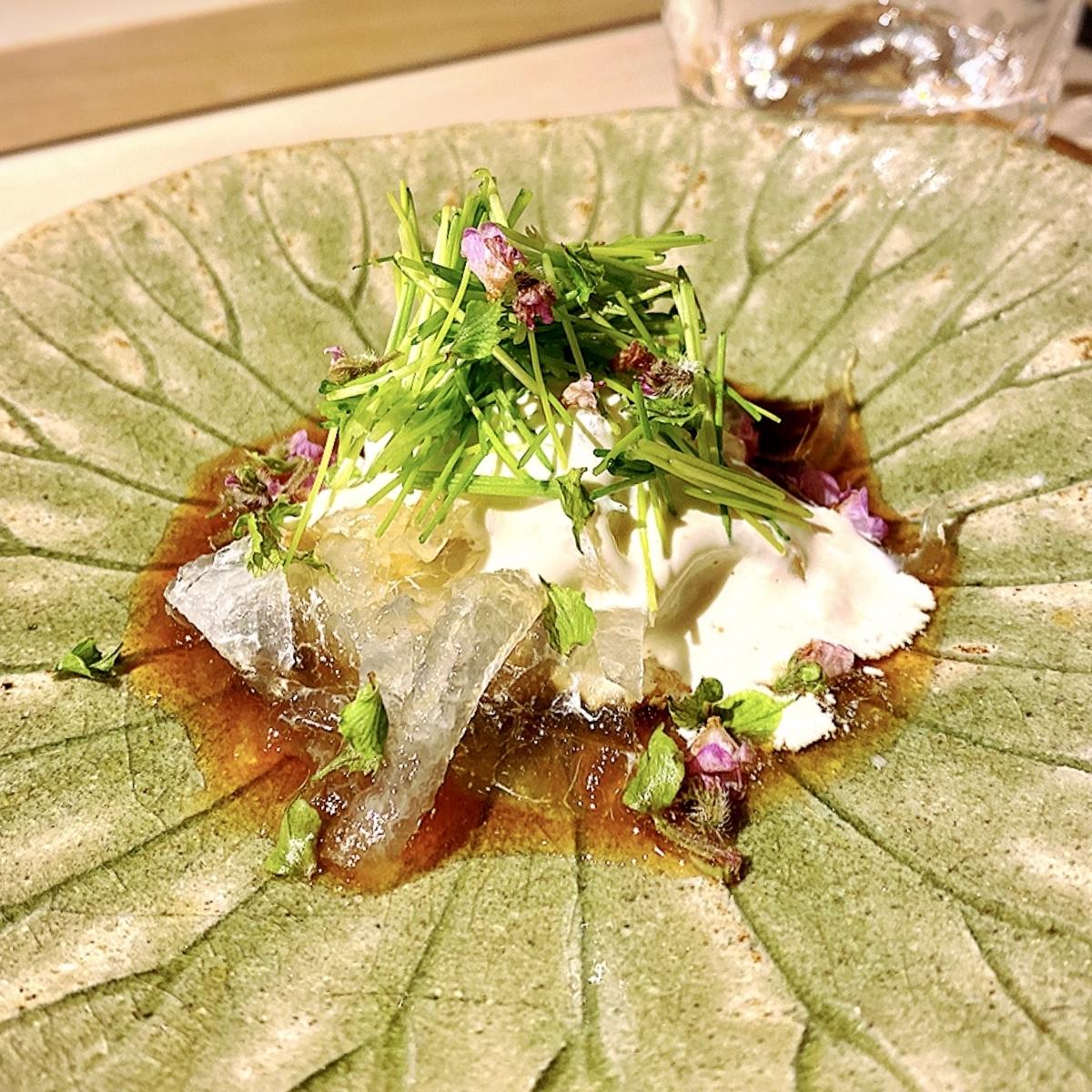 「日本料理 みや」でいただいた「九州のとらふぐ」