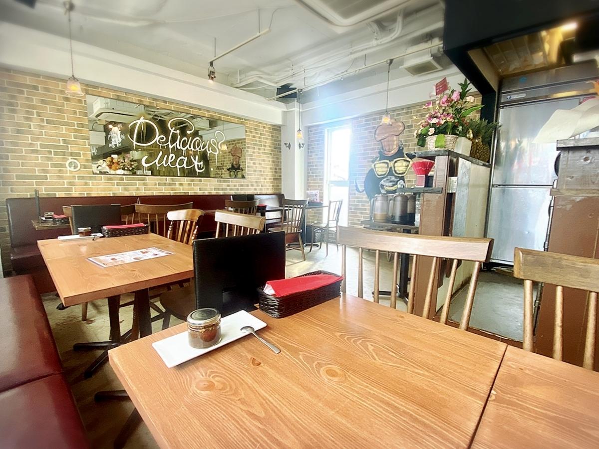 シェラスコレストランALEGRIA 吉祥寺の店内雰囲気