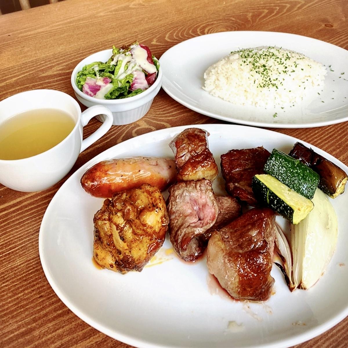シェラスコレストランALEGRIA kichijojiのおすすめ吉祥寺ランチ