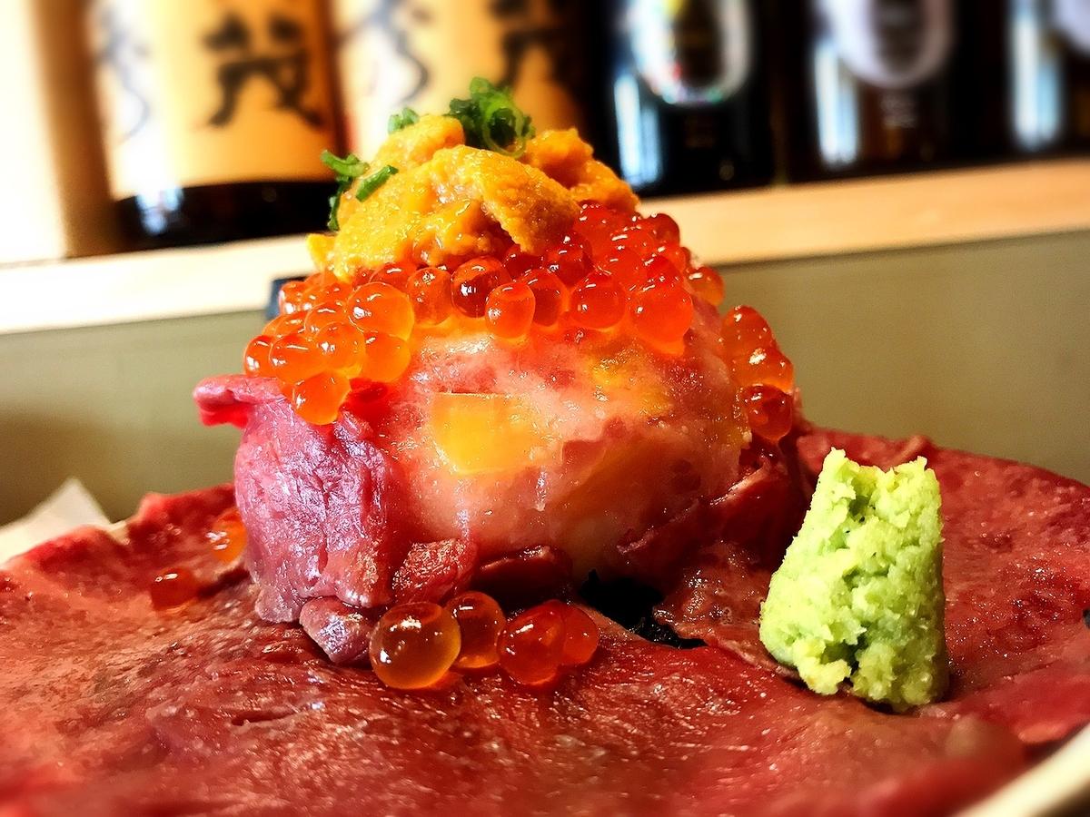肉ドレス海鮮丼(海鮮丼)のテイクアウト