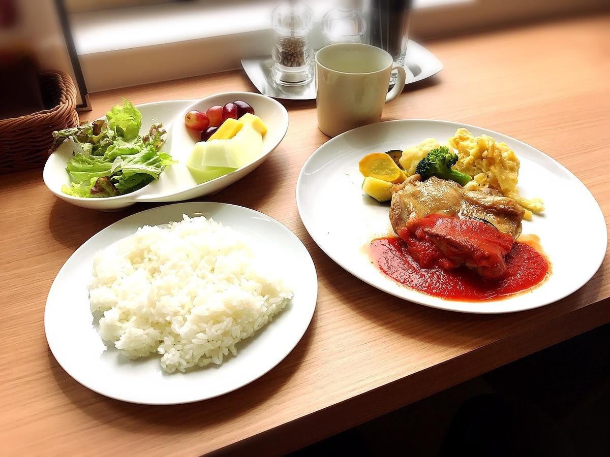 吉祥寺でおいしいカフェランチがいただけるお店2 果樹園リーベル 吉祥寺