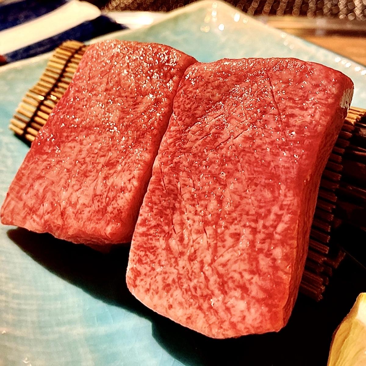 """「金肉」でいただいた「金肉コース」""""10500円(税別)"""