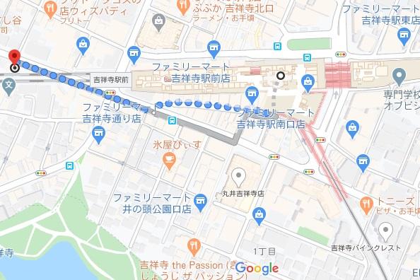 麺ハチイチ/81 NOODLE BARへの行き方