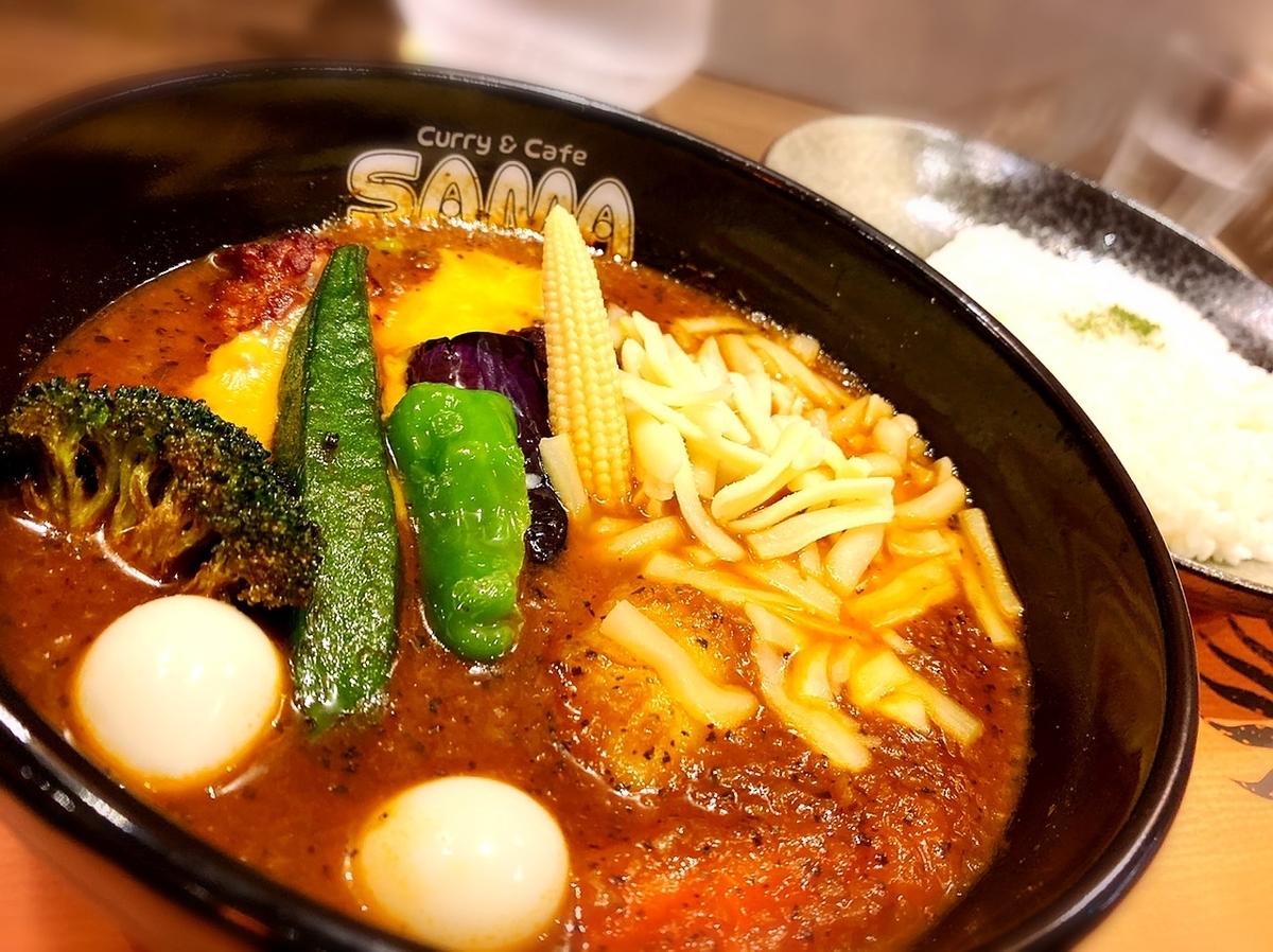 31段階の辛さが調節可能なスープカレーの名店「SAMA 吉祥寺」