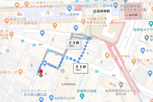 「ELMO(エルモ)」への行き方と店舗情報