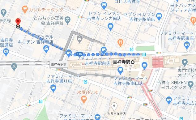 一圓 本店への行き方