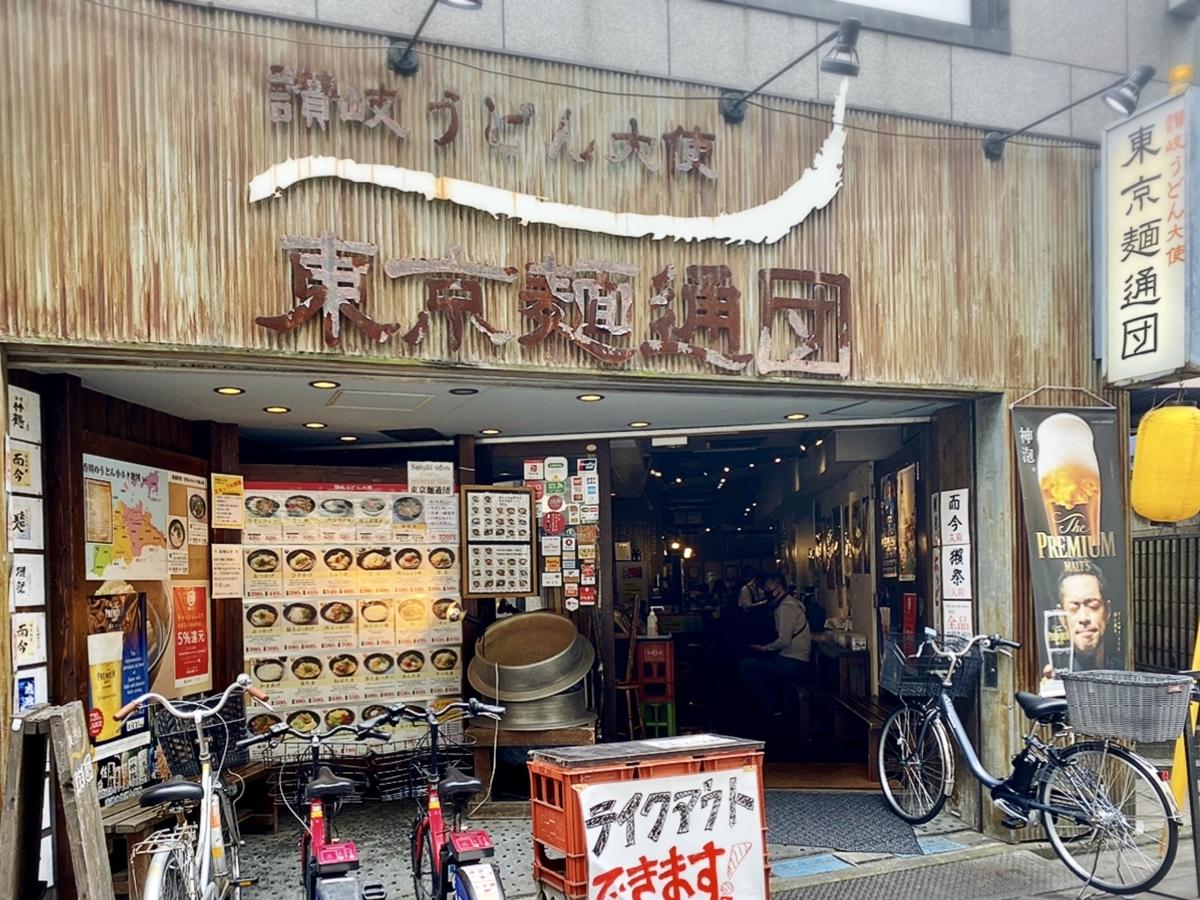 讃岐うどん大使 東京麺通団の外観