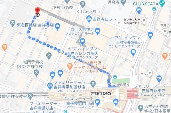 「イザカヤ コン(吉祥寺 kon)」への行き方と店舗情報