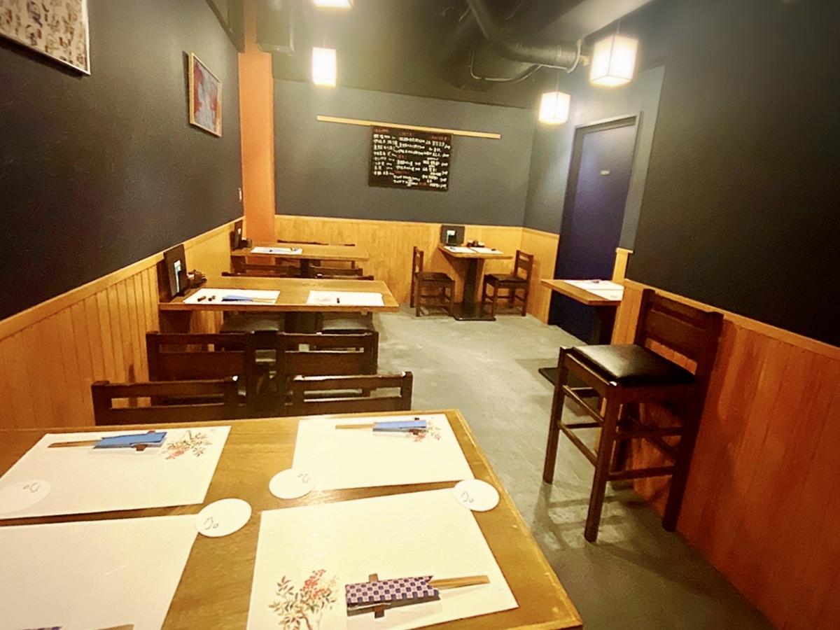 旨い肴と美味しい酒 勘九郎 吉祥寺の店内雰囲気