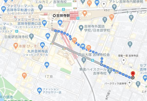 じぃまへの行き方と店舗情報
