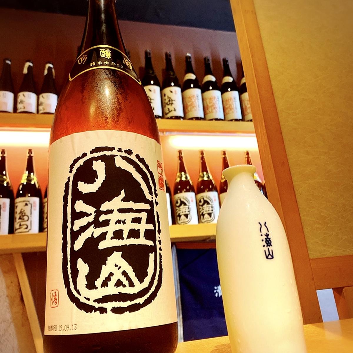 越後酒房 八海山 神楽坂店の店内雰囲気