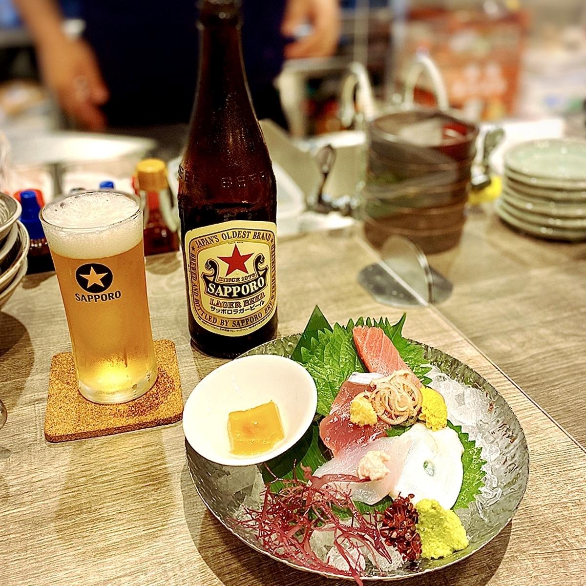 北海道から空輸される魚介を吉祥寺で堪能できるお店がニューオープン