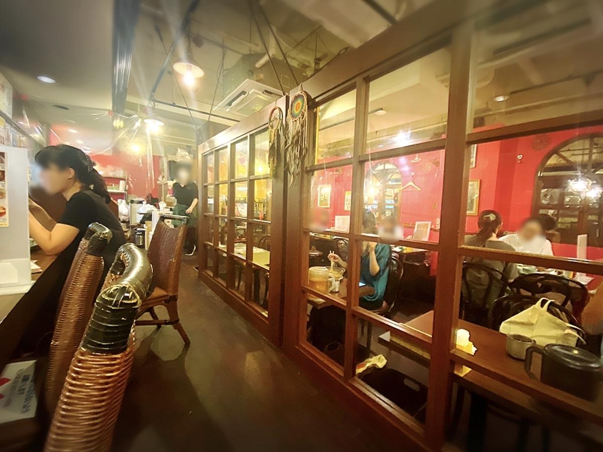 クルンサイアム 吉祥寺の店内雰囲気