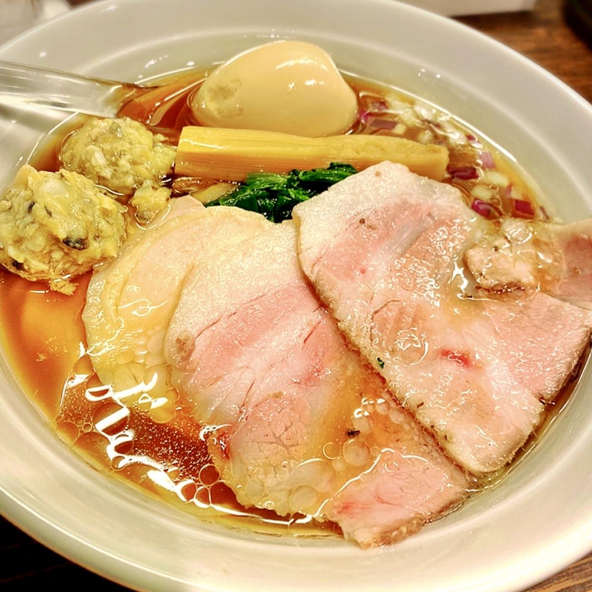 貝出汁の上品なスープが美味い中華そばがいただけるお店が吉祥寺にニューオープン