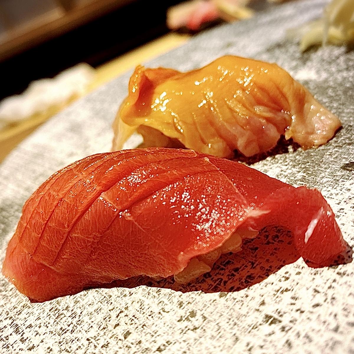【浜松町】プロジェクションマッピングと共にお寿司が堪能できるお店【大門】