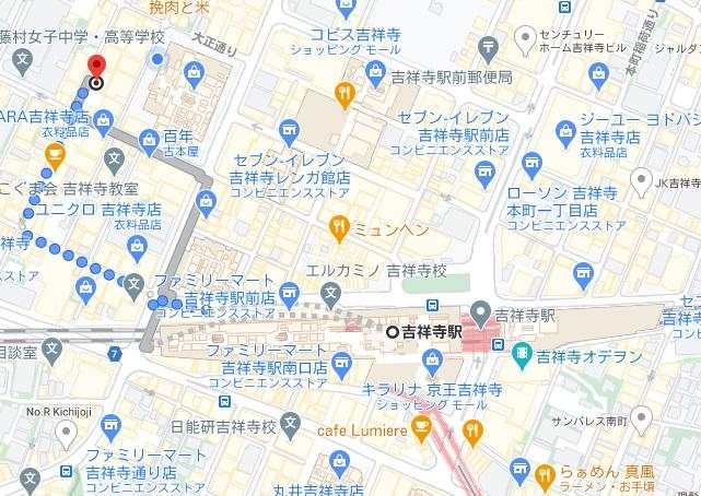 山本のハンバーグ 吉祥寺店への行き方と店舗情報