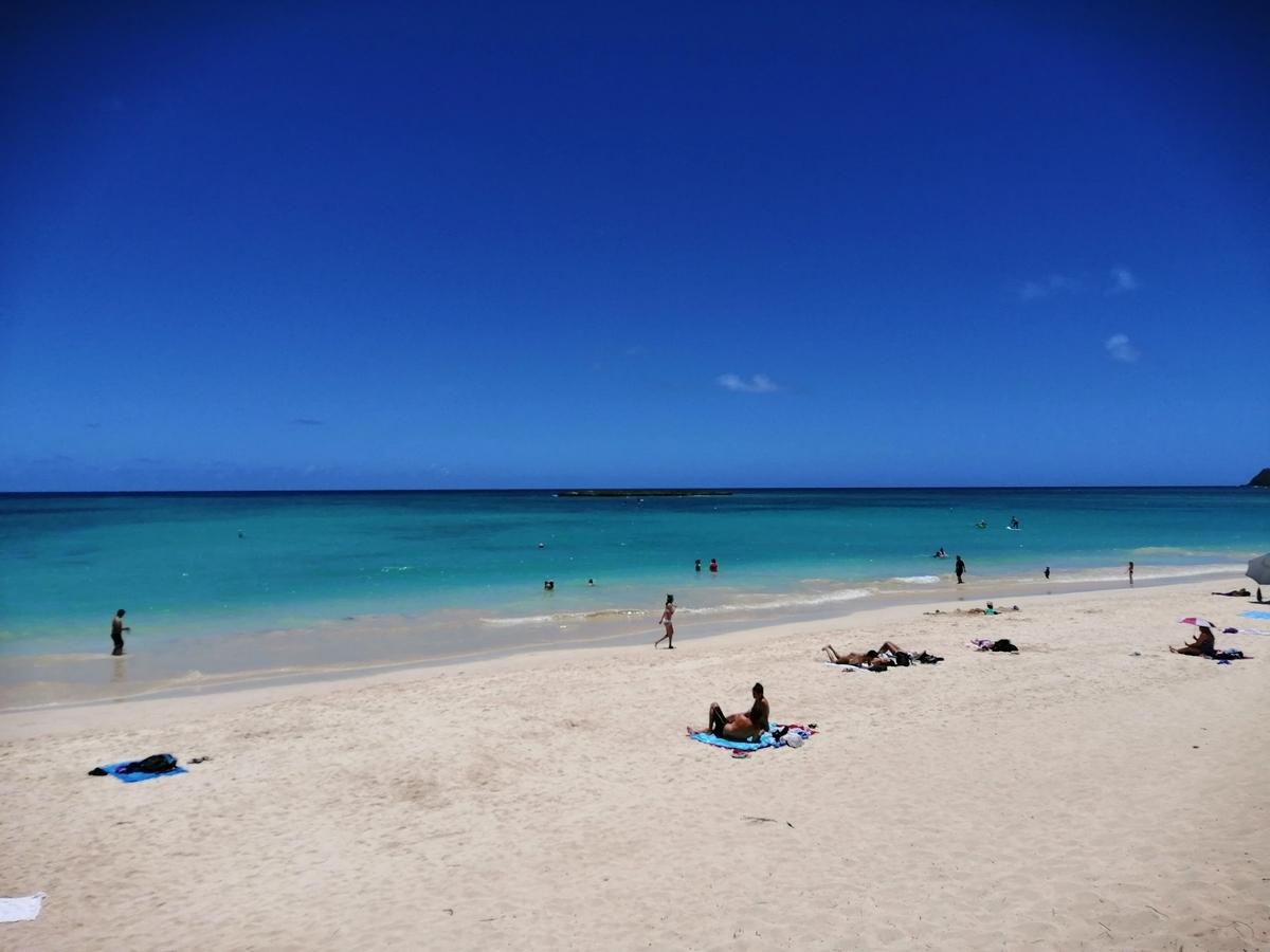 ハワイのカイルアビーチ