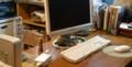 BUFFALOのディスプレイがダウン。古いMacに