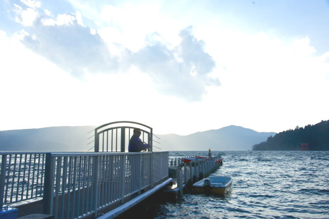 2012.4.9/箱根/芦ノ湖