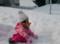 2017.3.6/帯広は雪が少ししかない。でもスキーウェアーは正解。