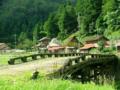 山里の古橋
