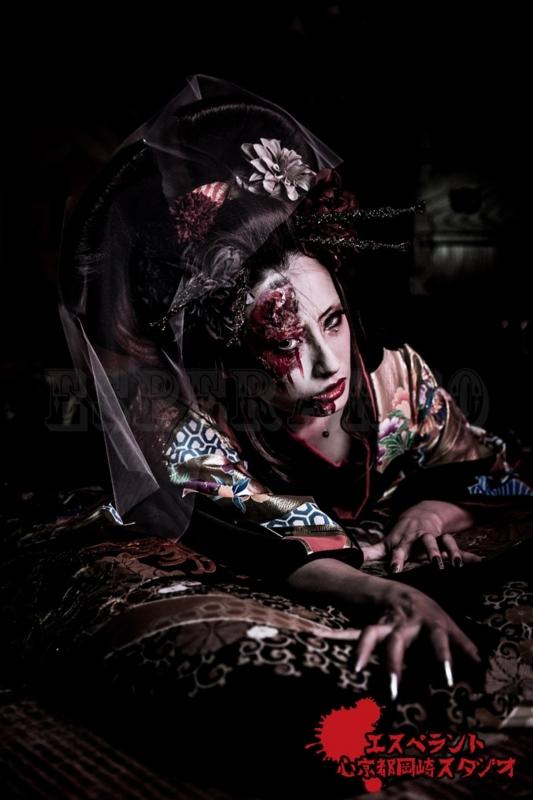 [京都][変身][写真][旅行][撮影][カメラ][コスプレ][特殊メイク][化粧][ハロウィン]