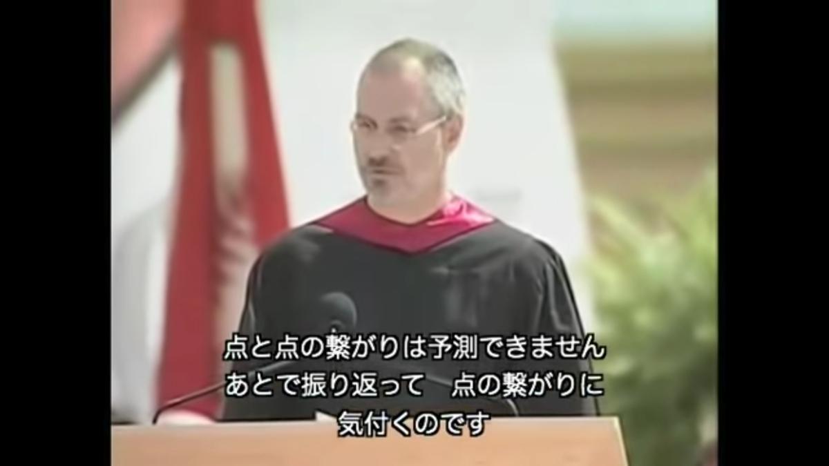 スティーブ・ジョブズ、伝説のスピーチ