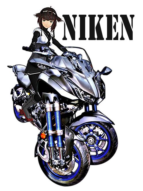 NIKEN MMD MODEL:初月 「艦これ」ファンアートモデル(モデル製作:槭樹)