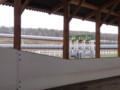 追分Fリリーバレー 屋根付き周回コースの内側