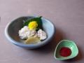 鱧の梅肉(麺坊 はりまや)