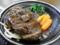 猪肉ハンバーグ(観音湯レストラン)